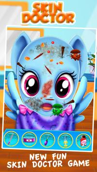 Rainbow Dash Skin Doctor Salon poster