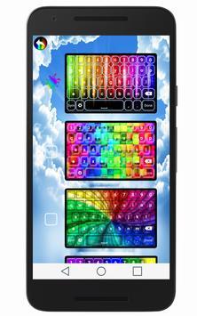 Rainbow Keyboard screenshot 2