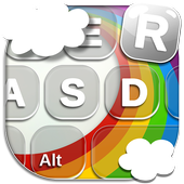 Rainbow Keyboard Themes icon