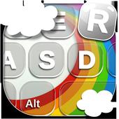Rainbow Keyboard Themes icon