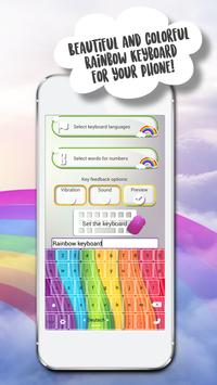 Rainbow Keyboard Themes apk screenshot