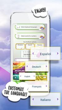 Rainbow Keyboard Themes screenshot 2
