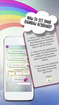 Rainbow Keyboard Themes screenshot 3