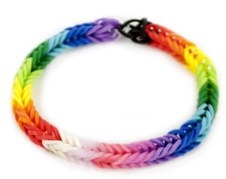 Rainbow loom ideas designs apk screenshot