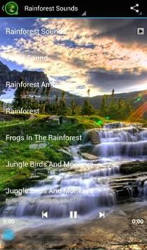 Rainforest Sounds apk screenshot