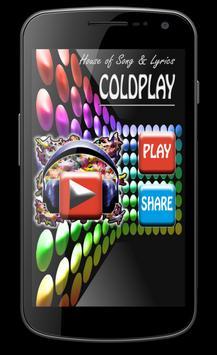 Coldplay Best Song Lyrics apk screenshot