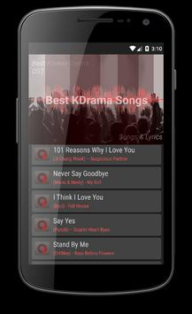 Best KDrama Ost Songs Lyrics for Android - APK Download
