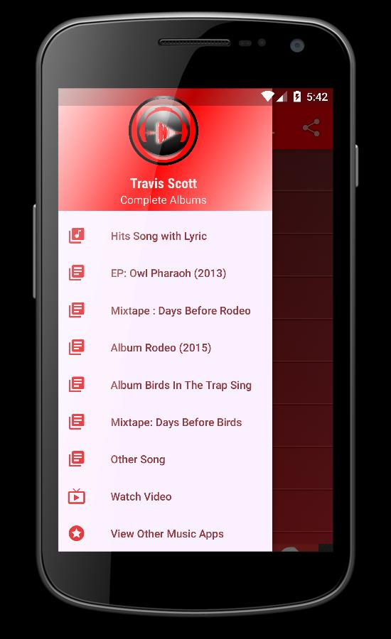 TRAVIS SCOTT Songs Lyrics for Android - APK Download