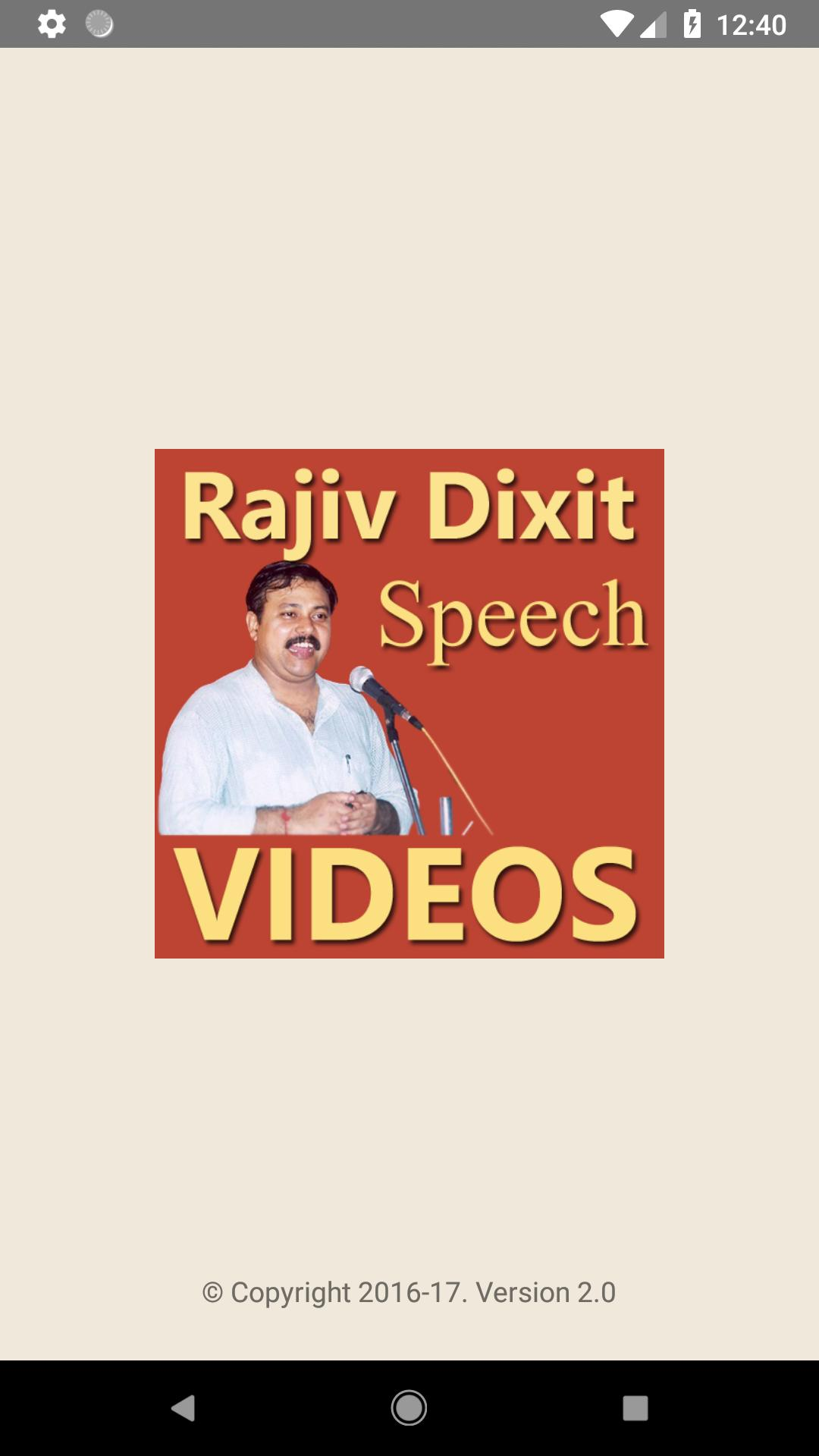 Rajiv Dixit Speech VIDEOs for Android - APK Download