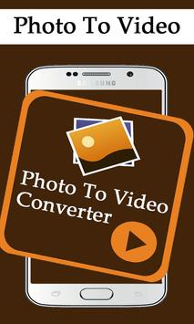 Photo to Video Converter Slide poster
