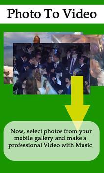 Photo to Video Converter Slide apk screenshot
