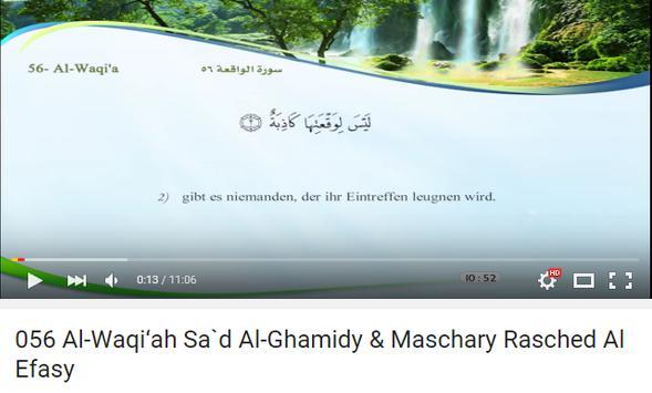 Quran German Translation apk screenshot
