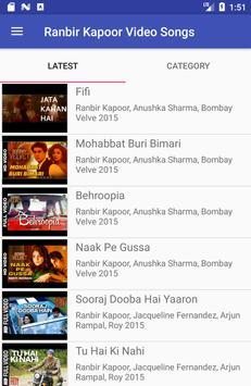 Ranbir Kapoor Video Songs Lyrics poster