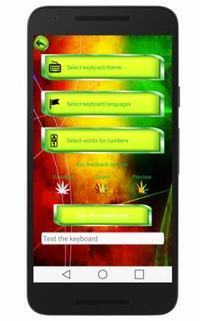 Rasta Keyboard apk screenshot