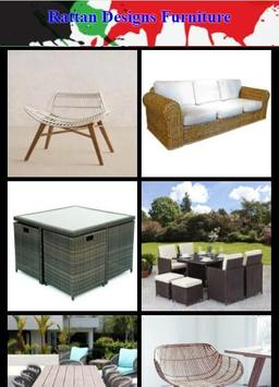 Rattan Designs Furniture poster