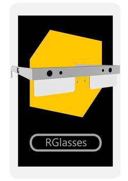 RGlassesAPP poster