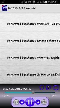 Rai Jdid 2017 الراي جديد mp3 apk screenshot