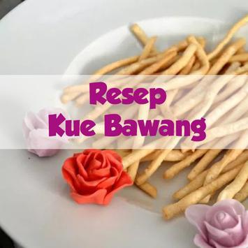 Resep Kue Bawang Gurih dan Renyah poster
