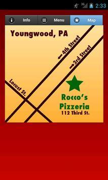 Roccos Pizzeria screenshot 1