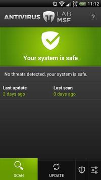 LabMSF Antivirus beta poster