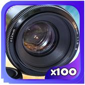 Super 4K Ultra Zoom HD Camera 2017 Professionnel icon