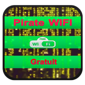 Pirate Mots De Pass WIFI Prank icono