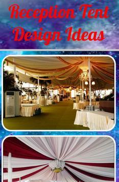 Reception Tent Design Ideas poster