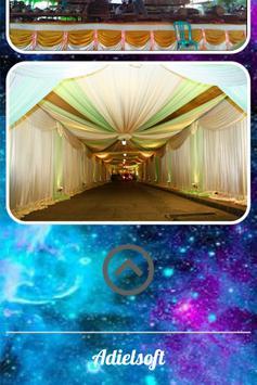 Reception Tent Design Ideas apk screenshot