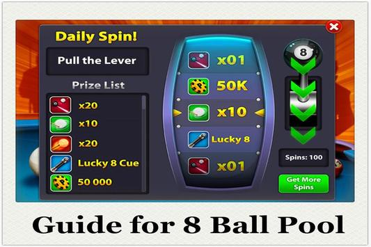 Utility Guide 8 Ball Pool poster