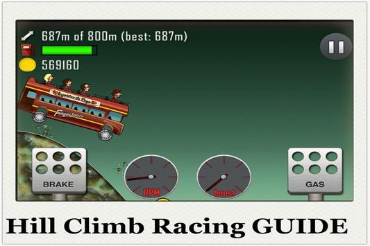 Guide of Hill Climb Racing poster