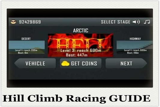 Guide of Hill Climb Racing screenshot 4