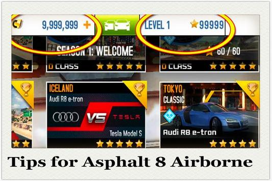Tips for Asphalt 8 Airborne poster