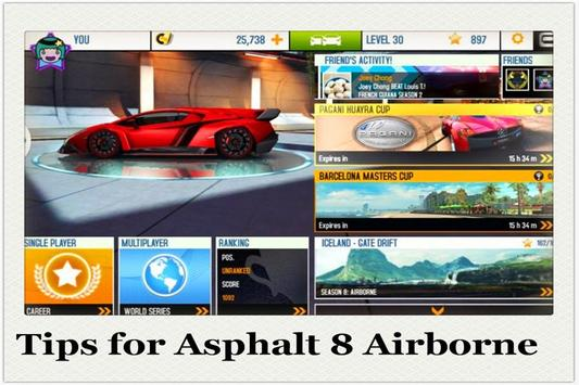 Tips for Asphalt 8 Airborne screenshot 1