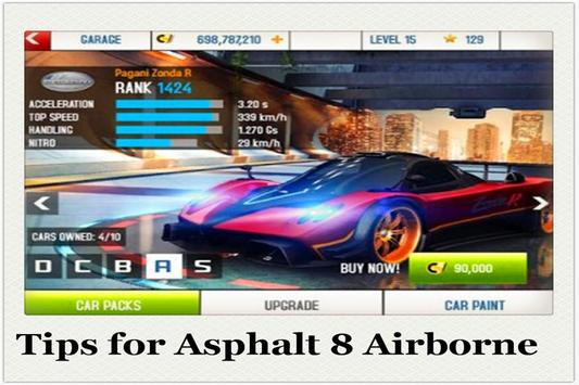Tips for Asphalt 8 Airborne screenshot 3