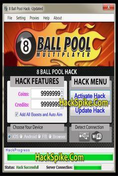 Hack 8 Ball Pool Guia poster