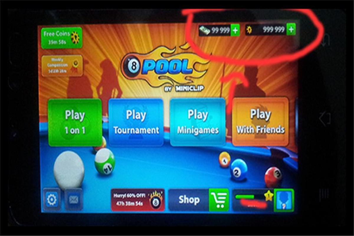 8 ball pool full line hack apk
