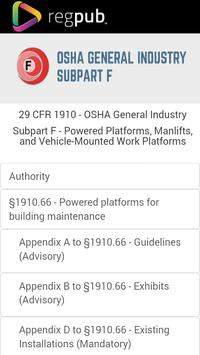 29 CFR 1910 - Subpart F poster