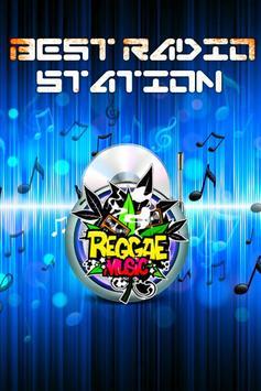 Reggae Music Radio poster