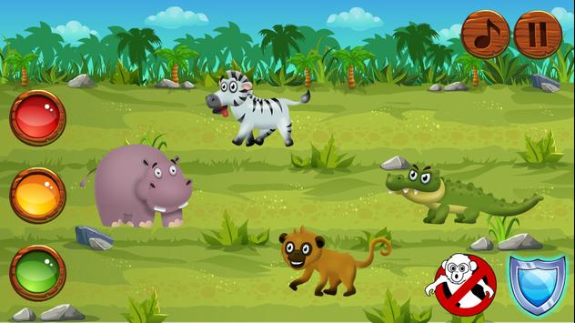 Hippo in a crazy race apk screenshot