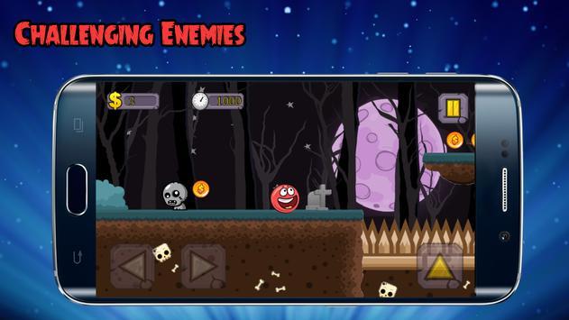 Red bouncing ball screenshot 5