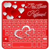 Red Hearts Keyboard ♥ icon