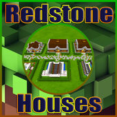 HD Redstone Houses for Minecraft MCPE icon