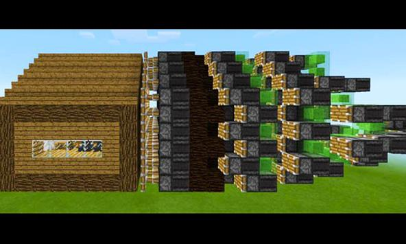 HD Redstone Houses for Minecraft MCPE apk screenshot