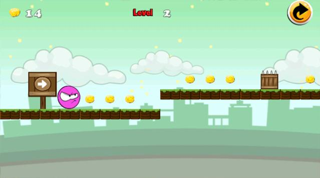 Pinky Ball 4 : Runner apk screenshot