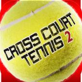 Cross Court Tennis 2 icon