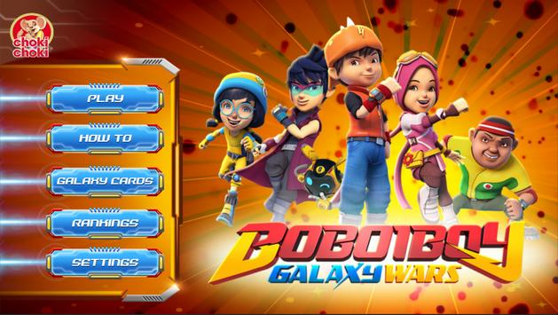 Choki Choki Boboiboy Galaxy Wars Malaysia For Android Apk Download