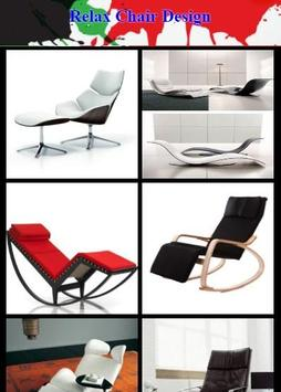 Relax Chair Design poster