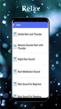 Rain Sounds for Relaxing apk screenshot