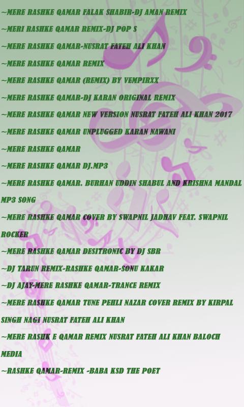 mere rashke qamar remix mp3 free download
