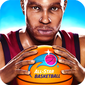 All-Star Basketball - Score with Super Power-Ups icon